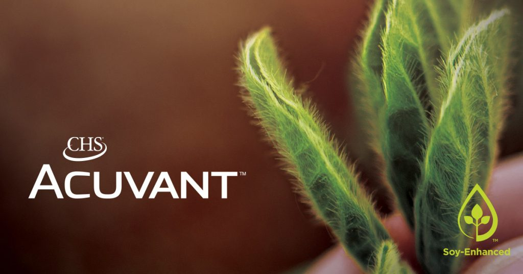 CHS Acuvant - new spray adjuvant made with refined soybean oil